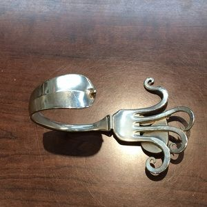Jewelry - Silver spoon bracelet